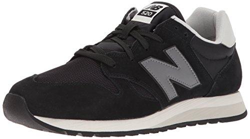 New Balance U520v1, Sneaker Unisex – Adulto Nero