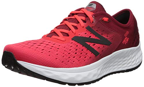 New Balance Fresh Foam 1080v9, Zapatillas de Running para Hombre, Rojo (Energy Red/NB Scarlet/Black Rb9), 45 EU