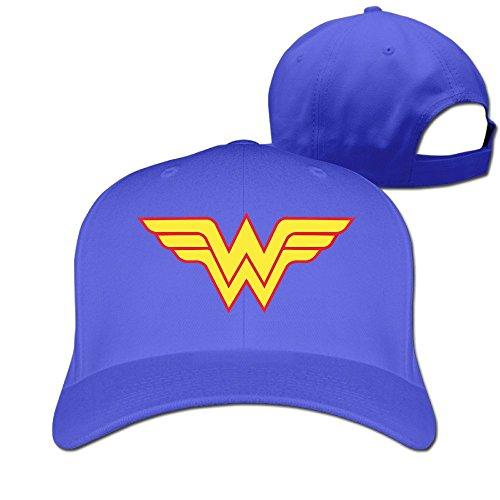 Hiphop Fashion ajustable mdlww Wonder Woman WW Cap niños -  Azul -