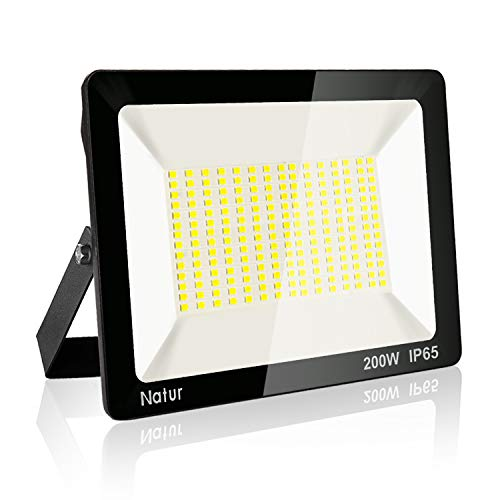 200W LED Foco exterior,Proyector Foco LED 6000K Blanco Frío Impermeable IP65 Luces...