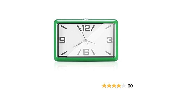 Winbang Auto Armaturenbrett Uhr Auto Uhren Quarzuhr Schöne Auto Dekoration Uhr Ornamente Mini Stick On Style Grün Auto