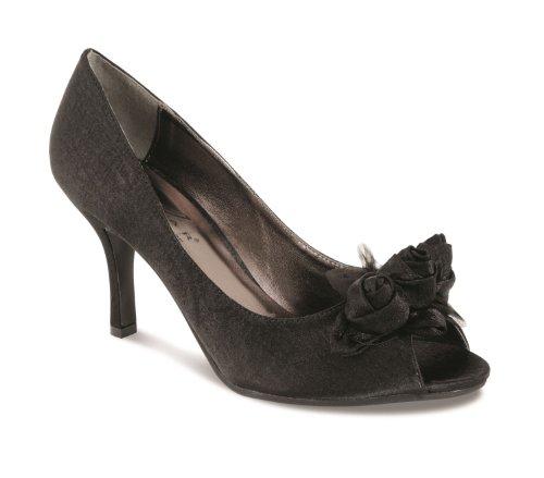 Fantasia, Scarpe col tacco donna Nero (nero)
