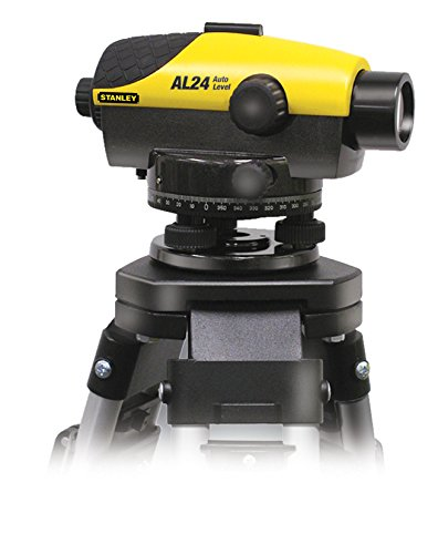 Stanley AL24 GVP Set, optischer Nivellierer, Stativ, Koffer, 90m Arbeitsbereich, 24 Laserdioden, 1-77-160