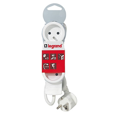 Legrand - LEG50062 - Rallonge Multiprises - Blanc