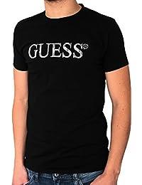 T-shirt GUESS homme manches courtes noir