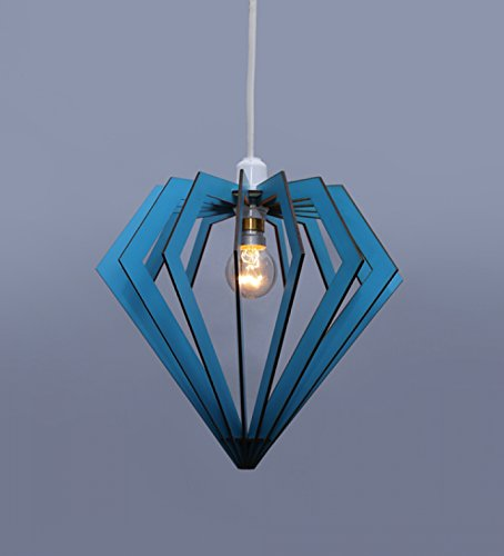 The Brighter Side Good Quality Latest Design Pattern Unique shape Diamond Sea Pendant Hanging Light For Decor
