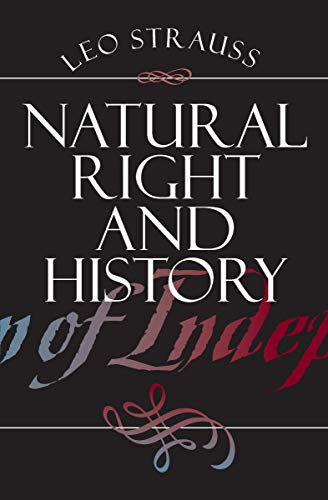 Natural Right and History (Walgreen Foundation Lectures) (English Edition) -