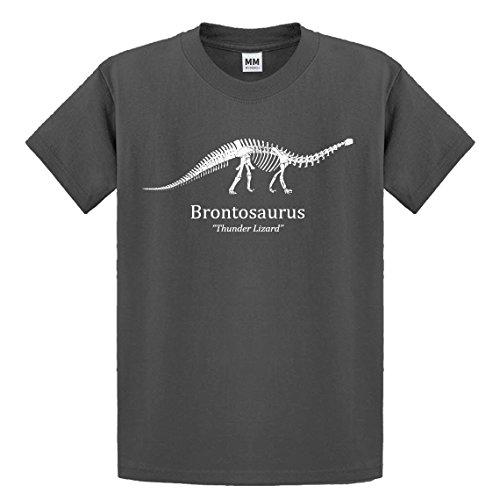 Indica Plateau Brontosaurus Camiseta de la Juventud - Gris -