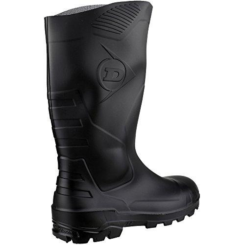 Dunlop Gummistiefel Kniehoch S5, Stivali di Gomma Donna Nero