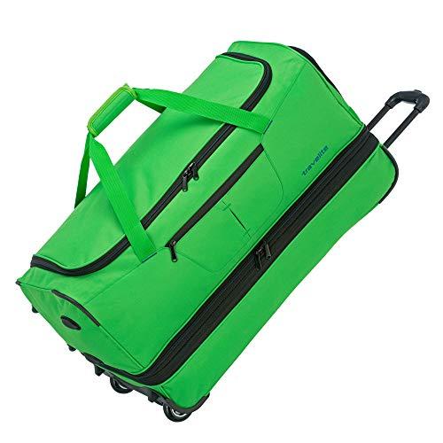 Travelite Basics Rollenreisetasche L 70 cm (98/119 L) erweiterbar grün