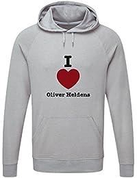 The Grand Coaster Company Love Oliver Heldens Lightweight Hooded Sweatshirt
