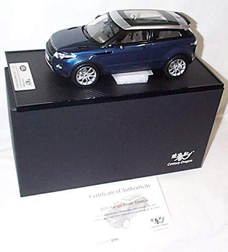 Jahrhundert Dragon Land Rover Range Rover Evoque 2011 Baltic Blue Car 1:18 Druckgussmodell -