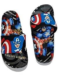 Sagar Footwear Baby Boys Black Slipper