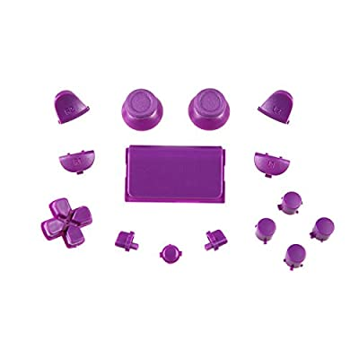 Sony PS4 Playstation 4 Full Button Set - Lilac by CSBC / Playstation + XBOX Skins