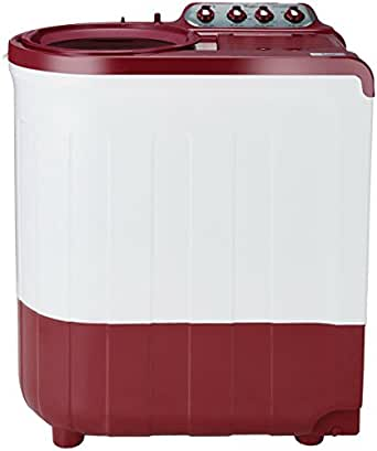 Whirlpool 7.5 kg Semi-Automatic Top Loading Washing Machine (Ace SuperSoak 7.5, Coral Red)