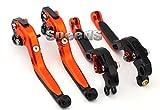 SPEEDS Motorrad Klappbare und Ausziehbare Brems-und Kupplungshebel Bremshebel Kupplungshebel Set Für KTM SMC 690 Duke 690 2012-2013