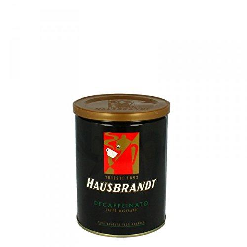 Hausbrandt Kaffee Espresso Decaffeinato Koffeinfrei gemahlen 250