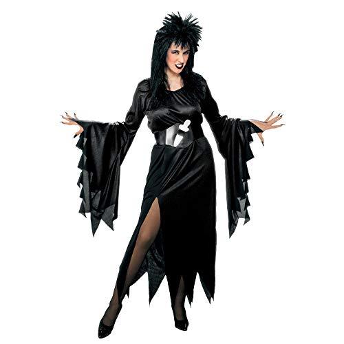 WIDMANN 39163?Disfraz de bruja Vampiresa/'evilina' de talla L