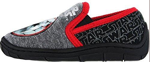 Socks Uwear  Star Wars Tait,  Jungen Durchgängies Plateau Sandalen mit Keilabsatz schwarz/red
