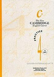 The New Cambridge English Course 4 Practice book with key: Practice Book with Key Level 4 by Michael Swan (2010-01-05)