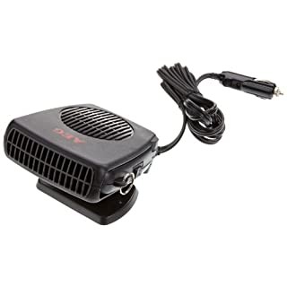 AEG 97201 Windshield de-icer with fan, warm/cold, 150 W, with 12 V car connector, stand, and handle