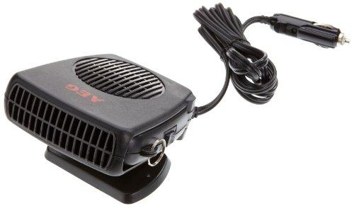 AEG 97201 Deshelador de ventanas con ventilador, caliente / frío, 150 Watios, con conexión de coche de 12 V , soporte de pie y agarre manual