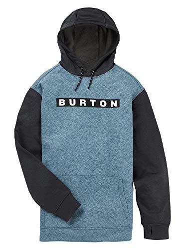 Burton Herren Oak Kapuzenpullover, Blue Sapphire True Black Heather, XXL -