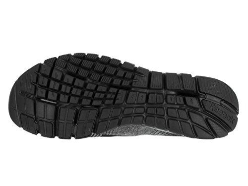 Reebok ZPump Fusion Toile Chaussure de Course Black-Grey-Red-Silver-Wht