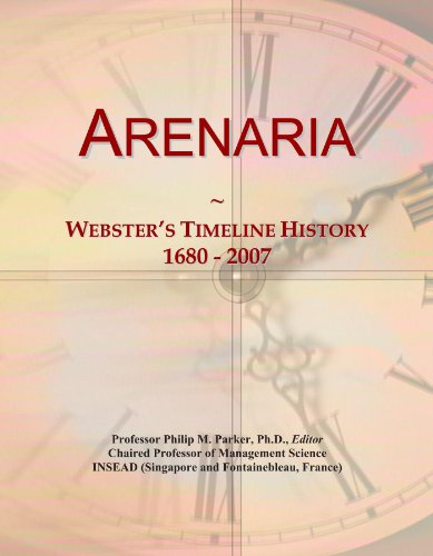 arenaria-websters-timeline-history-1680-2007