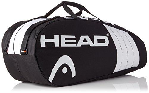 HEAD Unisex Tennistasche Schwarz