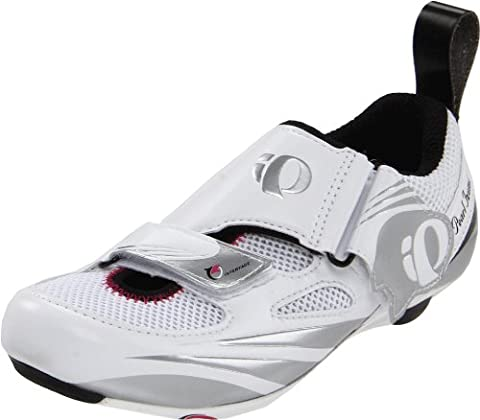 Pearl Izumi W Tri Fly Iv Carbon Cycling Shoe White / Silver 36.0 - 37.0