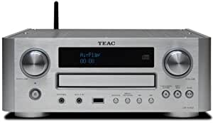Teac CR-H700DAB-S CD-Receiver mit Airplay Technology (DAB/DAB+, AUX1/2, MW/UKW/RDS-Tuner, USB) silber