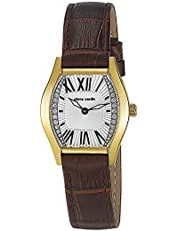 Pierre Cardin Damen-Armbanduhr Special Collection Analog Quarz Leder Swiss Made