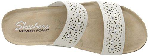Sandali e infradito per le donne, colore Bianco , marca SKECHERS, modello Sandali E Infradito Per Le Donne SKECHERS 40921S Bianco Bianco