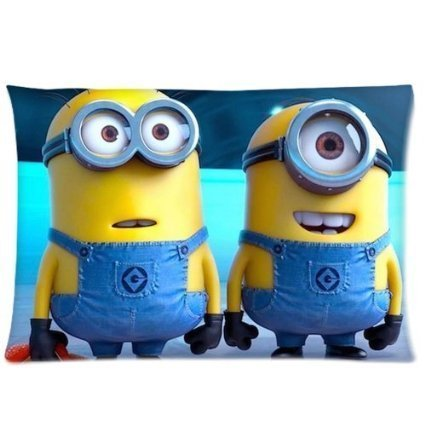 Custom Despicable Me Rectangle Pillowcase Covers Standard Size 20x30 Twin Sides by DIY-Supply