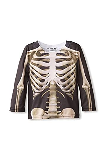 Toddler: Skeleton Costume Tee Baby T-Shirt Size 3T by Faux Real