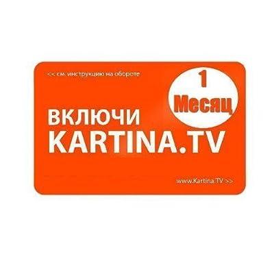 Kartina TV - 1 Monat Abo für russische TV ohne Vertragsbindung!