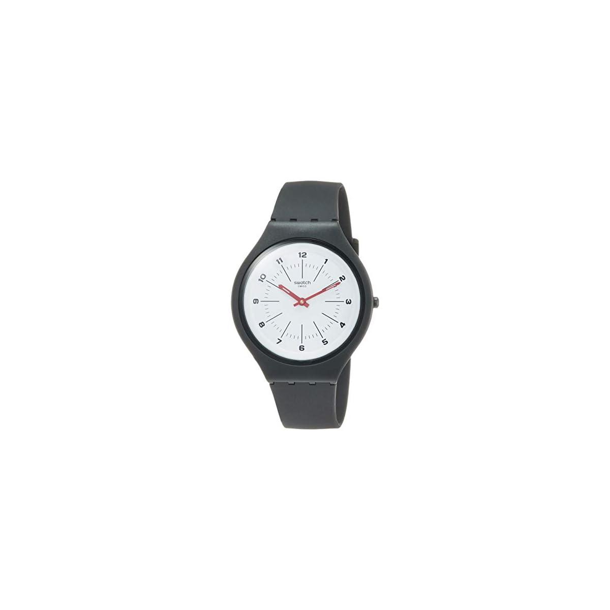 41osalDsfaL. SS1200  - Swatch Reloj Analógico para Unisex Adultos de Cuarzo con Correa en Silicona SVUM104