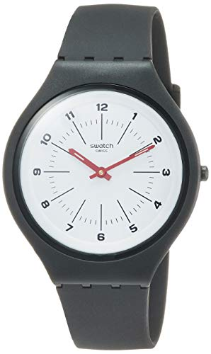 Swatch Orologio Analogico Quarzo Unisex Adulto con Cinturino in Silicone SVUM104