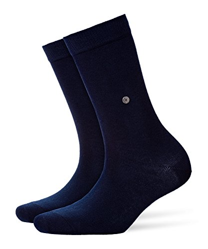 Burlington Damen Socken Damensocken Baumwolle Lady, Blickdicht, Blau (Marine 6120), 36/41 (One Size)
