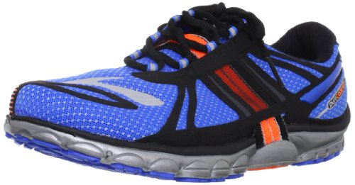 Brooks Pure Cadence M, Baskets mode homme turquoise - Blu  (Blue/Black/Orange/Silver)