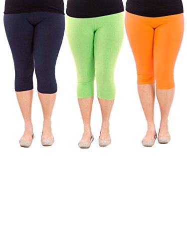 zando-sans-couture-taille-3-4-longueur-souple-et-elastique-plus-crop-femme-capri-pour-femme-us-xl
