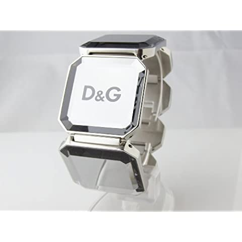 Dolce&Gabbana Dolce & Gabbana - DJ0788 - Pulsera de mujer de acero inoxidable, 25 cm
