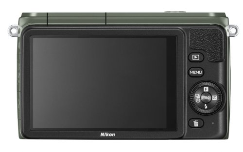 For Sale Nikon 1 S1 Compact System Camera – Khaki (10.1MP with 11-27.5mm Lens Kit) 3 inch LCD on Amazon