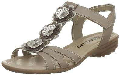 Remonte Sondra, Sandales femme - Beige (Porzellan/Silver/Oro), 41 EU (7.5 UK) (9.5 US)