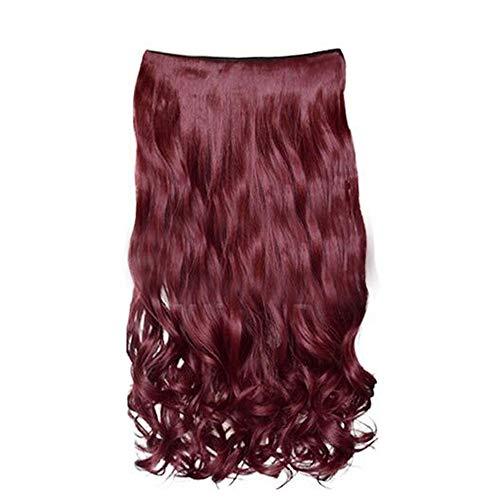 Beladla wigs - parrucca da donna fashion capelli lunghi ondulato può essere arricciato può essere tinto simile ai capelli veri replacement hair wigs for women heat resistant fiber