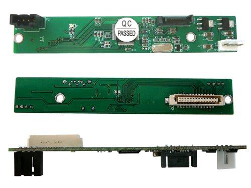 Kalea Informatique Konverter SATA II für Player CD/DVD Slim (Typ Slim IDE)-Für anzupassen EIN optisches Laufwerk auf einem Notebook-Port SATA I/II