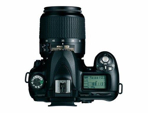 Nikon D50 SLR-Digitalkamera (6 Megapixel) schwarz + DX 18-55 - 3