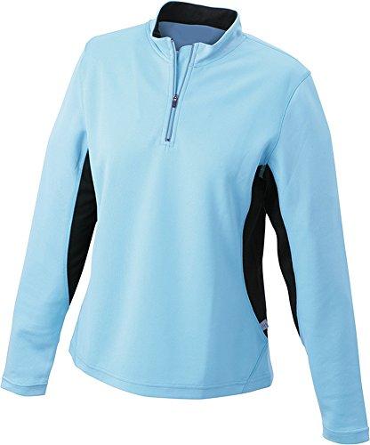 Ladies' Running Shirt im digatex-package Ocean/Black