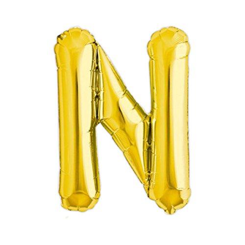Globo de helio 40cm. letra N